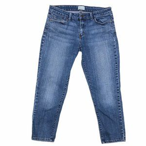 Levis Womens Cropped Stretch Jeans Size 10